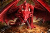ANNE STOKES- dragons lair  3D BOOKMARK